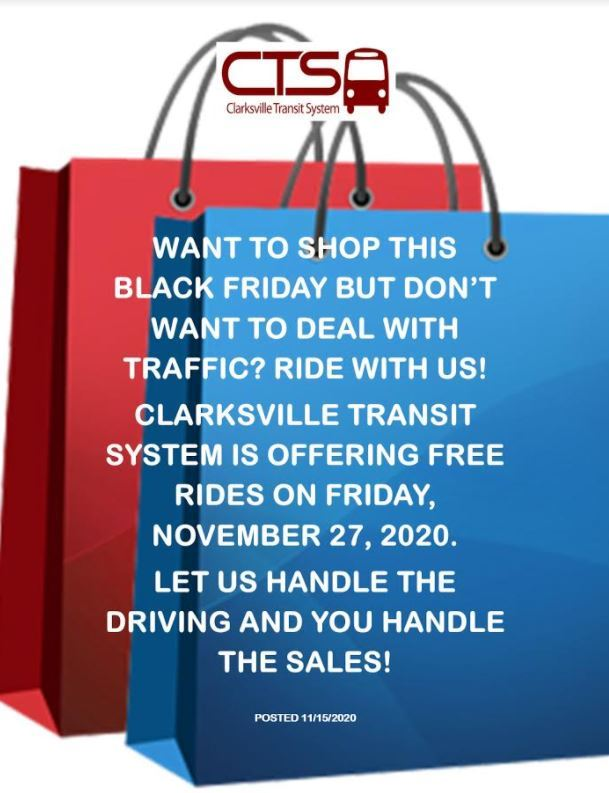 Black Friday Passenger Notice 2020